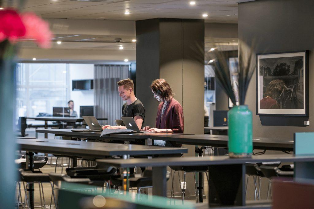 Kontor och lounge